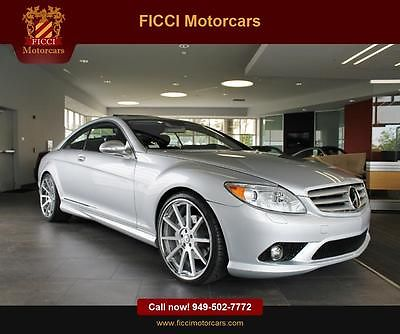 Mercedes-Benz : CL-Class CL550C 37 k orig miles orig msrp of 119 k distronic night vision carfax cert