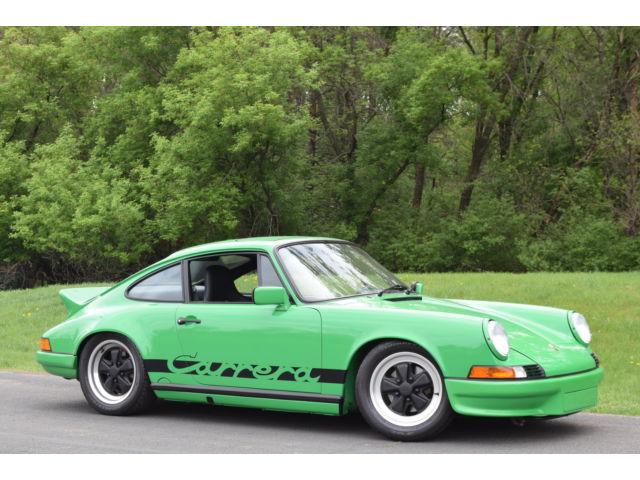 Porsche : 911 2dr Coupe 1973 porsche rs tribute 911 built 3.5 liter race motor motec ecu nut bolt