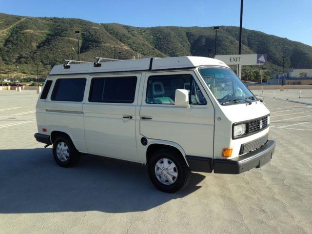 Volkswagen : Bus/Vanagon Westfalia Deluxe 1991 volkswagen vw westfalia camper van gl free shipping with buy it now