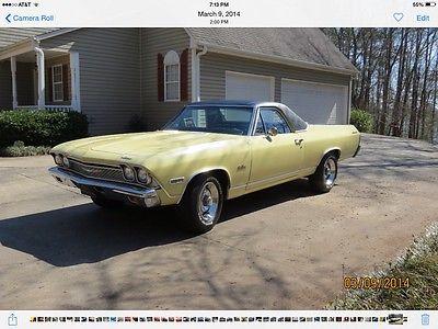 Chevrolet : El Camino Base 1968 chevrolet el camino base 5.7 l
