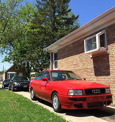 Audi : 90 20V TURBO S2 CONVERSION AUDI 90 20V TURBO QUATTRO WITH 3B ENGINE  ONLY 500 MILES ON MOTOR, S2 , RS2