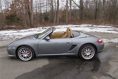 Porsche : Boxster 2dr Roadster S 2006 porsche boxster s we finance clean car fax 40 k miles must see best deal