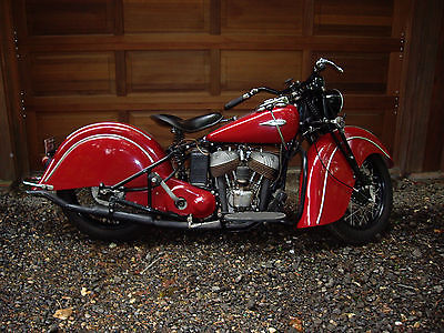 Indian : Indian sport scout  1940 indian