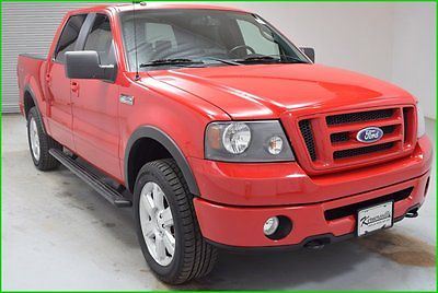 Ford : F-150 FX4 4x4 Crew cab Truck Sunroof Leather Heated seat FINANCING AVAILABLE!! 96k Miles Used 2008 Ford F150 SuperCrew FX4 5.4L 8 Cyl 4WD
