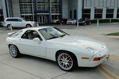Porsche : 928 Gt 1990 porsche 928 white automatic sunroof v 8 32 k miles