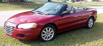 Chrysler sebring gtc convertible 2006
