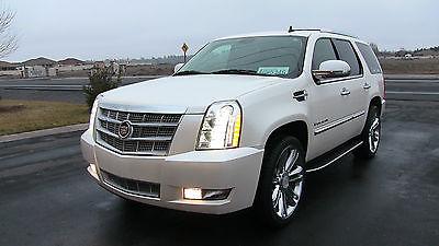 Cadillac : Escalade Platinum Sport Utility 4-Door 2013 cadillac escalade platinum only 33 k mi don t miss