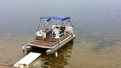 20 Foot Harris Float Boat with 15hp Evenrude Runs Great, Tons Of Updates!