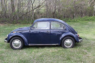 Volkswagen : Beetle - Classic std Vintage Classic 1968 Volkswagen Beetle Bug VW