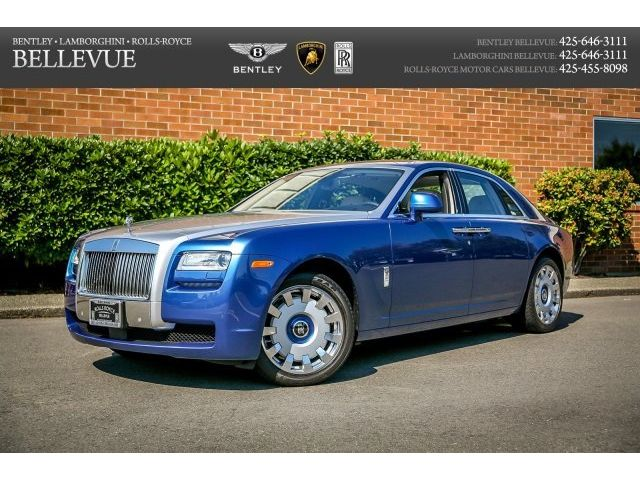 Rolls-Royce : Ghost Base Sedan 4-Door Driver Assist 3, Rear Theater, All-around Camera System, Glass Panorama Roof,