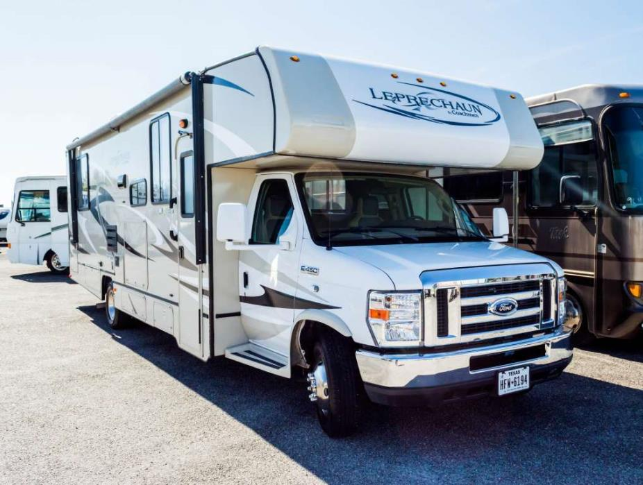 2013 Coachmen Leprechaun 319DS (Ford)