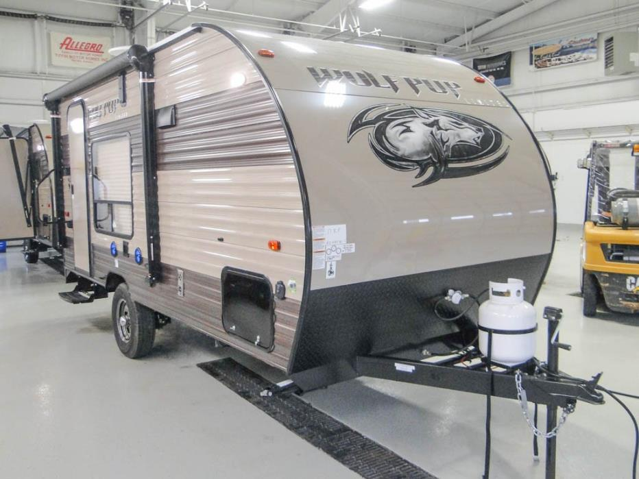 Forest River Wolf Pup 17rp Toy Hauler rvs for sale