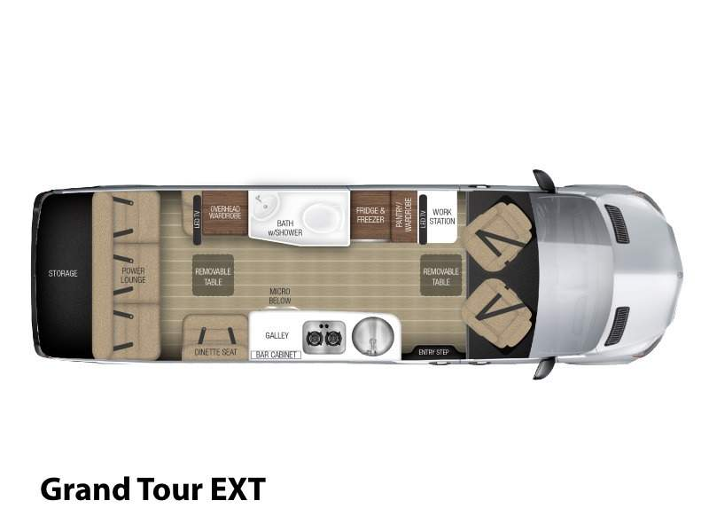 2017 Airstream Tommy Bahama  Special Edition Touring Coach Grand Tou