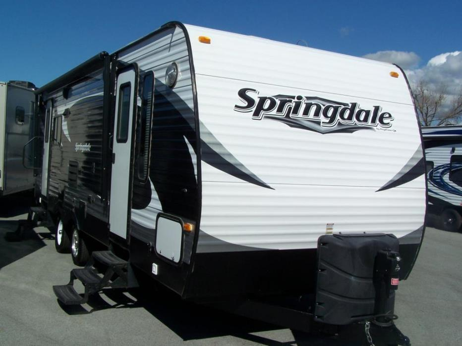 2014 Keystone Springdale 266RLSSR
