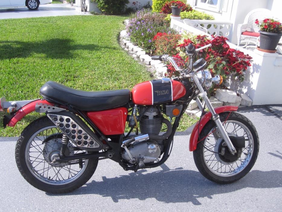 1972 BSA B50 GOLDSTAR