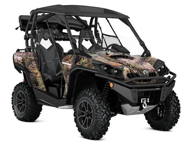 2017 Can-Am Commander 1000 Mossy Oak Hunting Edition