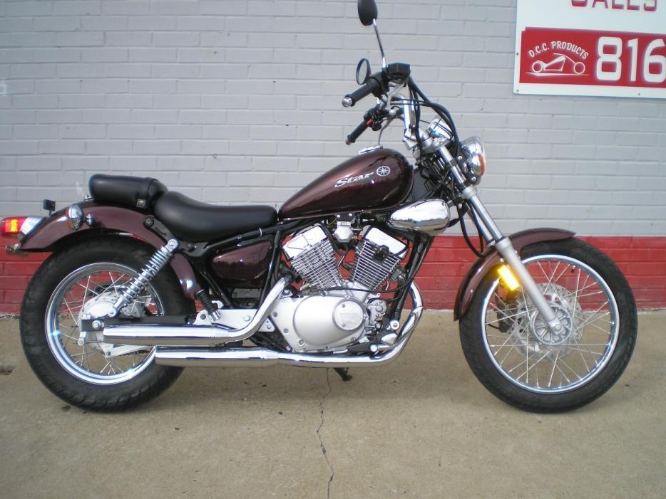 Yamaha v star 250 motorcycles for sale in missouri for Yamaha kansas city