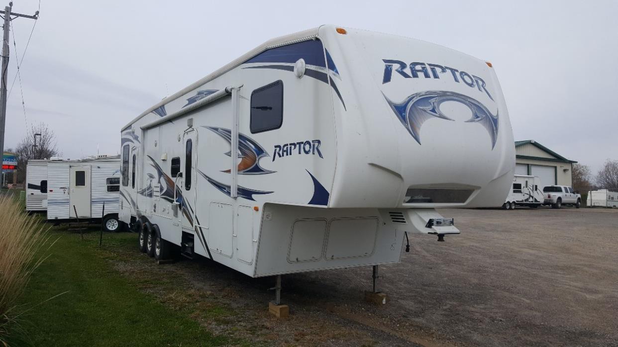 2010 Keystone Raptor 361LEV