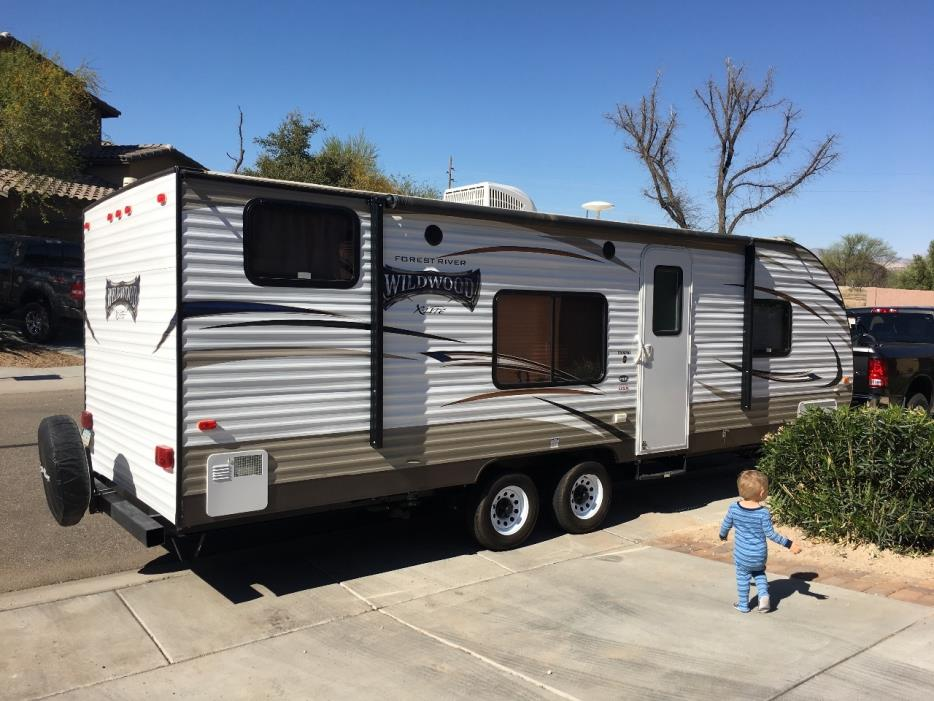 2016 Forest River WILDWOOD X-LITE 261BHXL