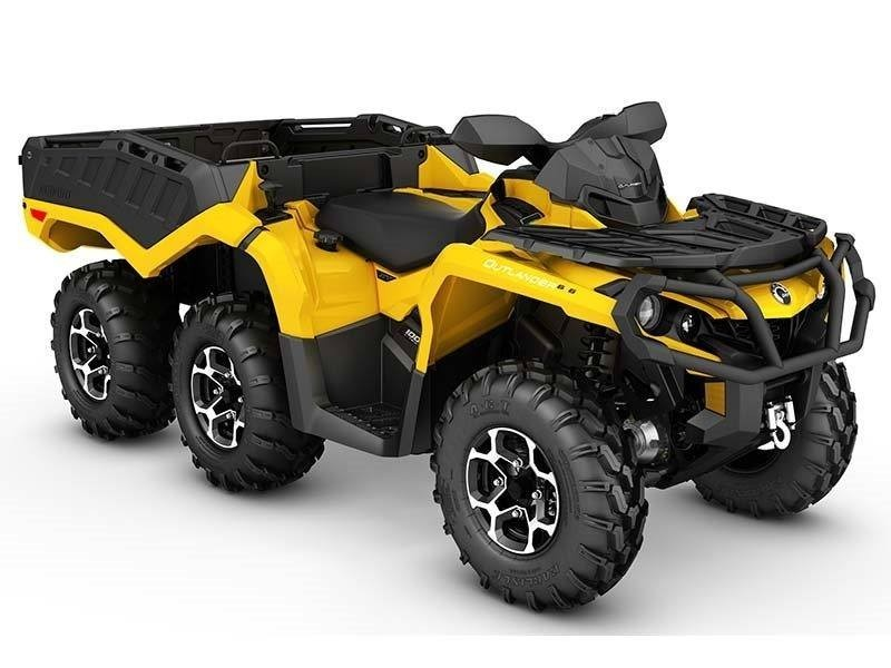 2016 Can-Am OUTLANDER 6X6 XT 1000