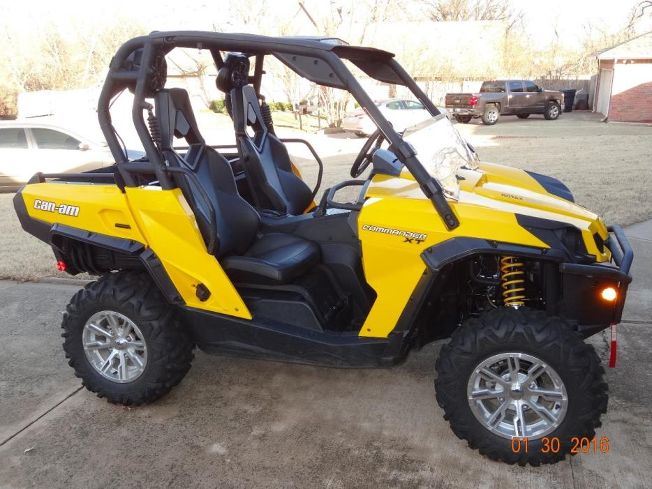 can am commander xt 1000 motorcycles for sale in yukon oklahoma. Black Bedroom Furniture Sets. Home Design Ideas
