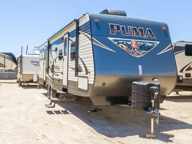 2017 Palomino Puma Travel Trailers 31-BHSS