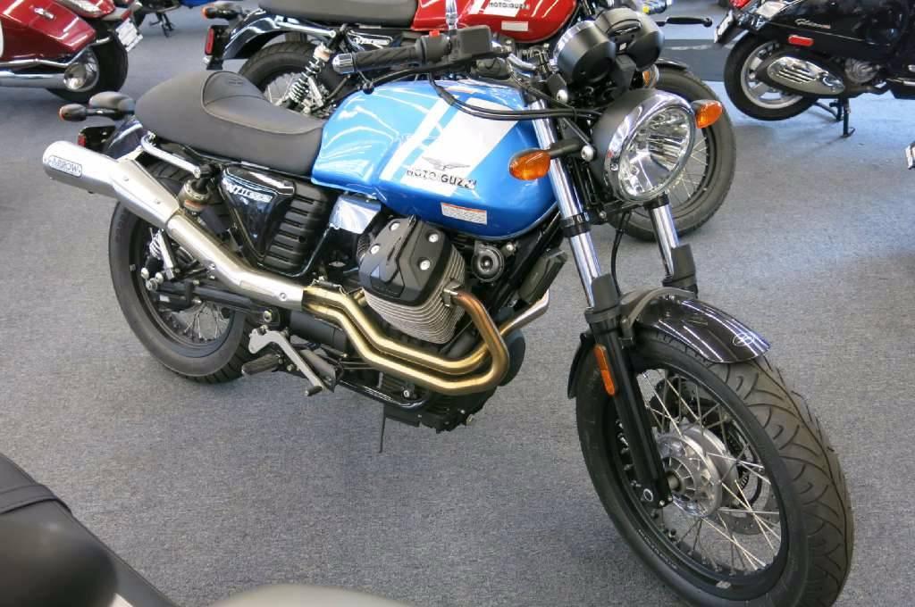 moto guzzi v7 ii scrambler abs motorcycles for sale. Black Bedroom Furniture Sets. Home Design Ideas