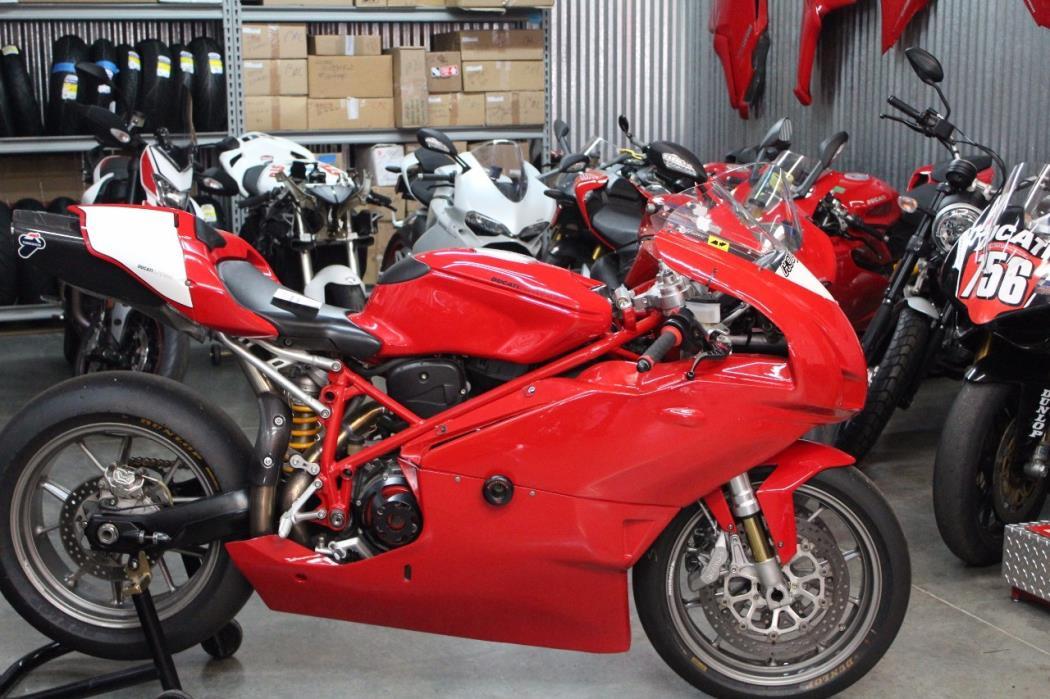 2006 Ducati 999 Track Bike