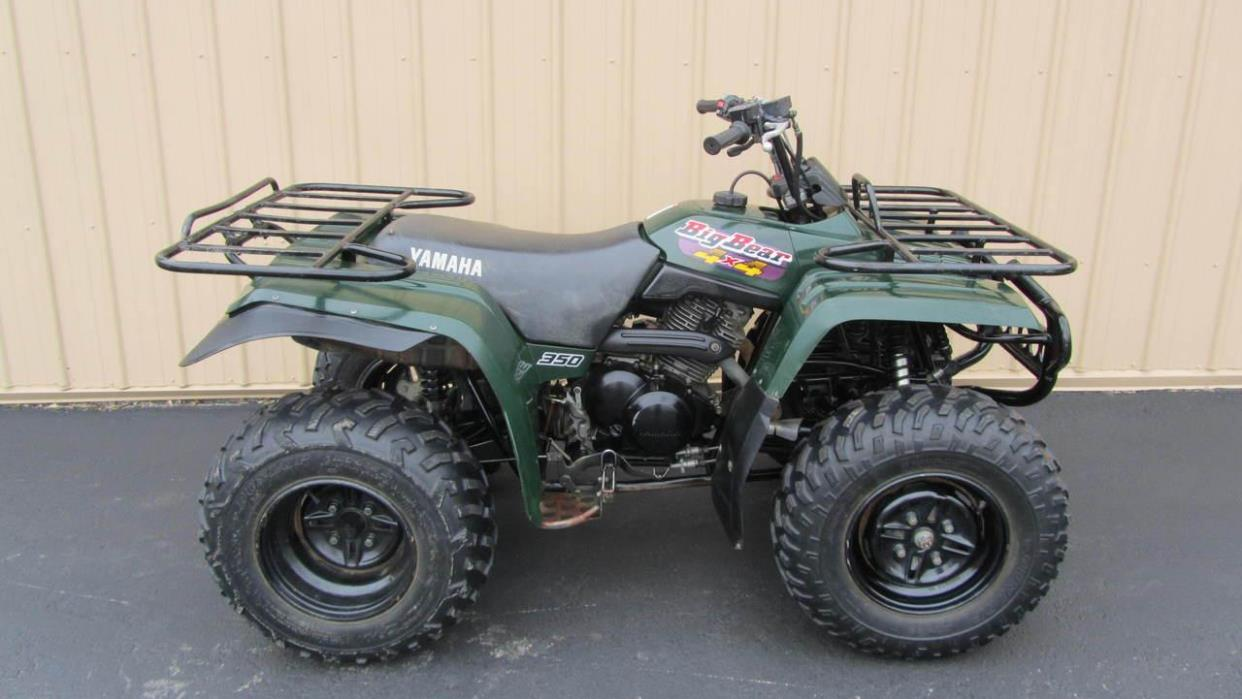 yamaha big bear 350 4x4 motorcycles for sale