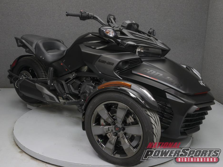 2016 Can Am SPYDER F3-T W/ABS