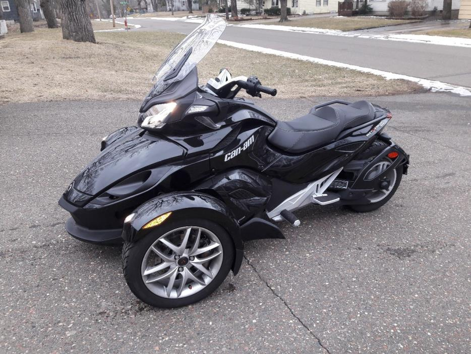 can am spyder st motorcycles for sale in minnesota. Black Bedroom Furniture Sets. Home Design Ideas