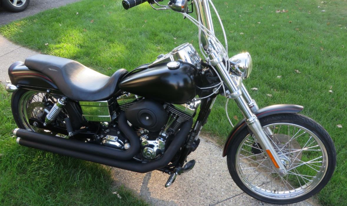harley davidson wide glide motorcycles for sale in farmington hills michigan. Black Bedroom Furniture Sets. Home Design Ideas