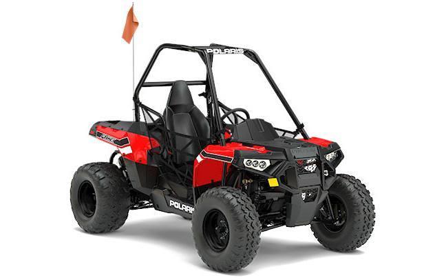 2017 Polaris ACE 150 EFI Indy Red