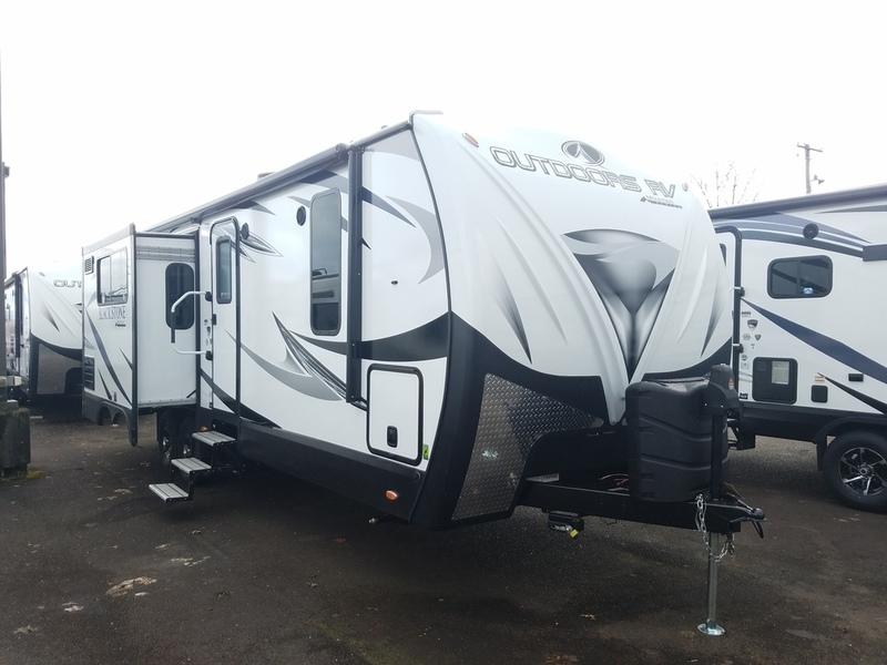 2017 Outdoors Rv Mountain Series Mountain Black Stone 250RKS