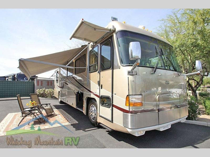 2002 Tiffin Motorhomes Zephyr 40 KZ 41' Double Slide 450 HP