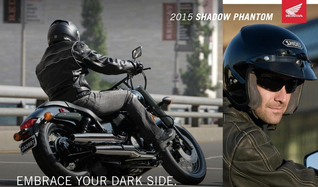 2015 Honda Shadow Phantom