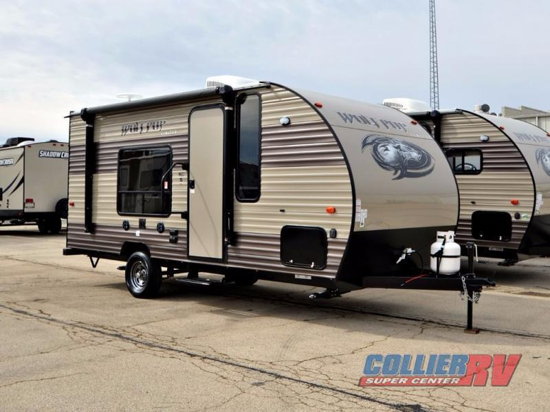 2018 Forest River Rv Cherokee Wolf Pup 16FQ