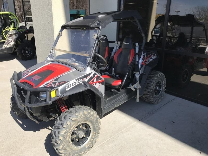 2012 Polaris Ranger RZR S 800 Liquid Silver/Red LE