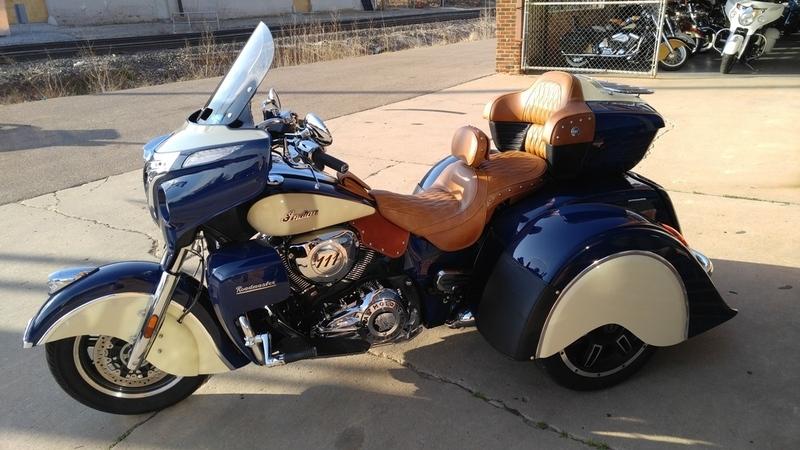 2015 Motor Trike Bagger/Touring Tomahawk IRS