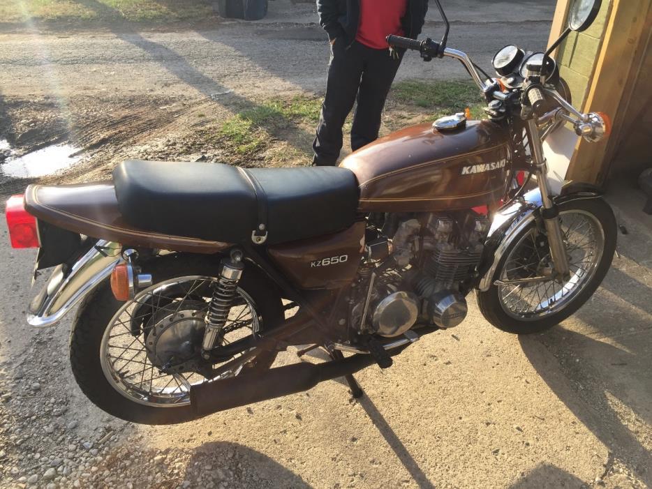 1977 Kawasaki KZ 750