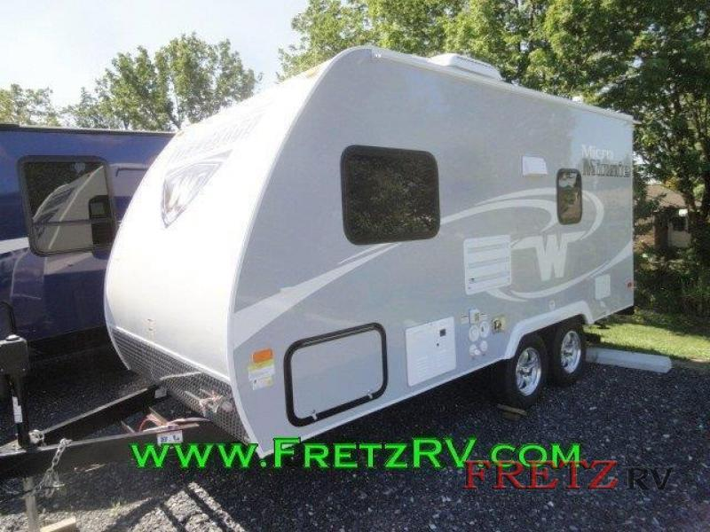 2016 Winnebago Industries Towables Micro Minnie 1706FB