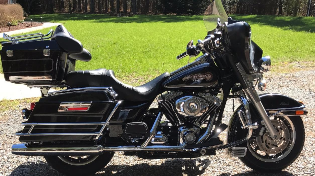 harley davidson electra glide classic motorcycles for sale in virginia. Black Bedroom Furniture Sets. Home Design Ideas