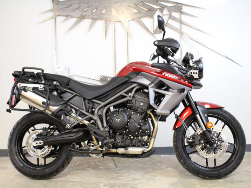 triumph tiger 800 xrt motorcycles for sale. Black Bedroom Furniture Sets. Home Design Ideas