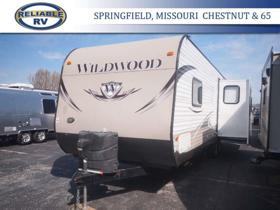 2014 Forest River Wildwood 27RLSS