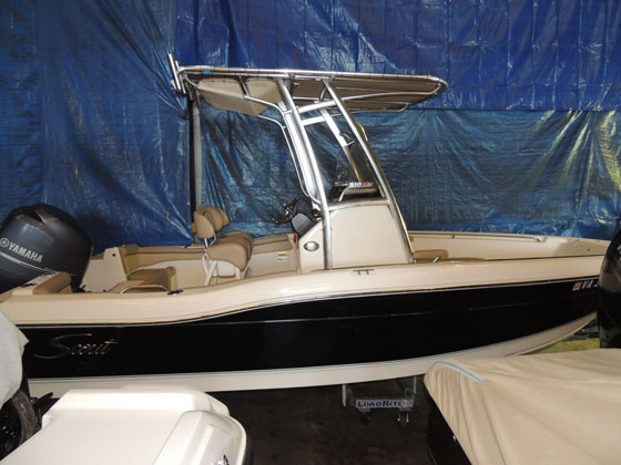 2015 Scout Boat Company 210 XSF