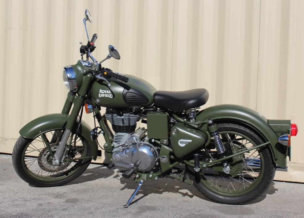 2016 Royal Enfield MILITARY