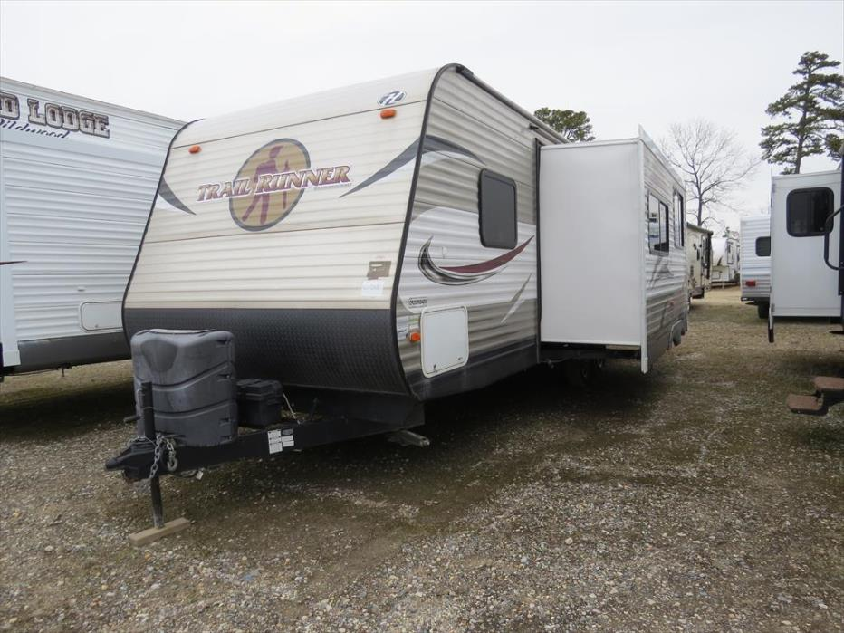 2014 Heartland Rv Trail Runner TR 27 FQBS