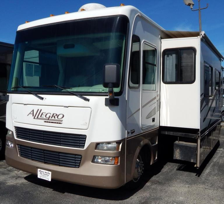 2006 Tiffin Allegro 34WA Queen Bed, Double Slide-out