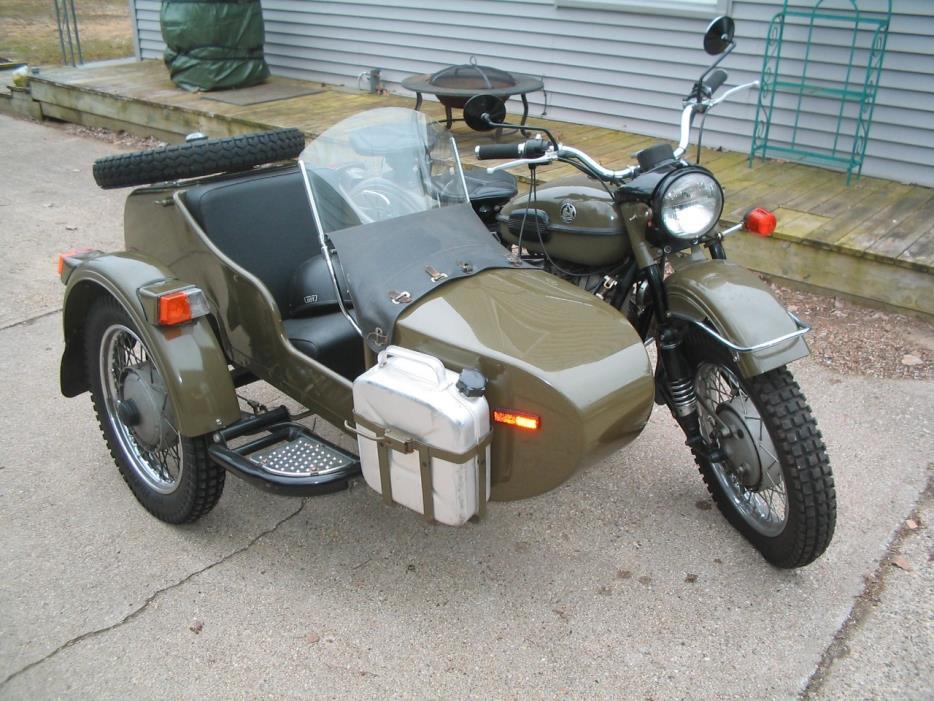 ural sidecar motorcycles michigan 2001