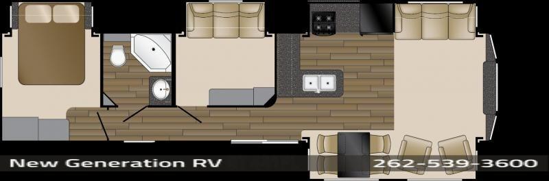 2017 Heartland Rv Resort 441FL